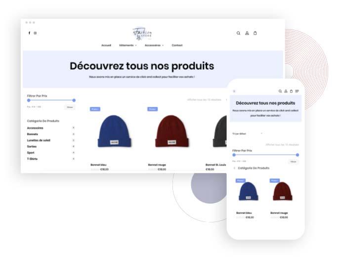 creation site e-commerce Genève